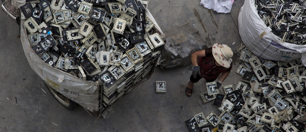 e-waste recycled