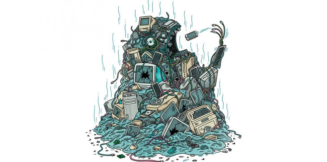 work together to eliminate e-waste