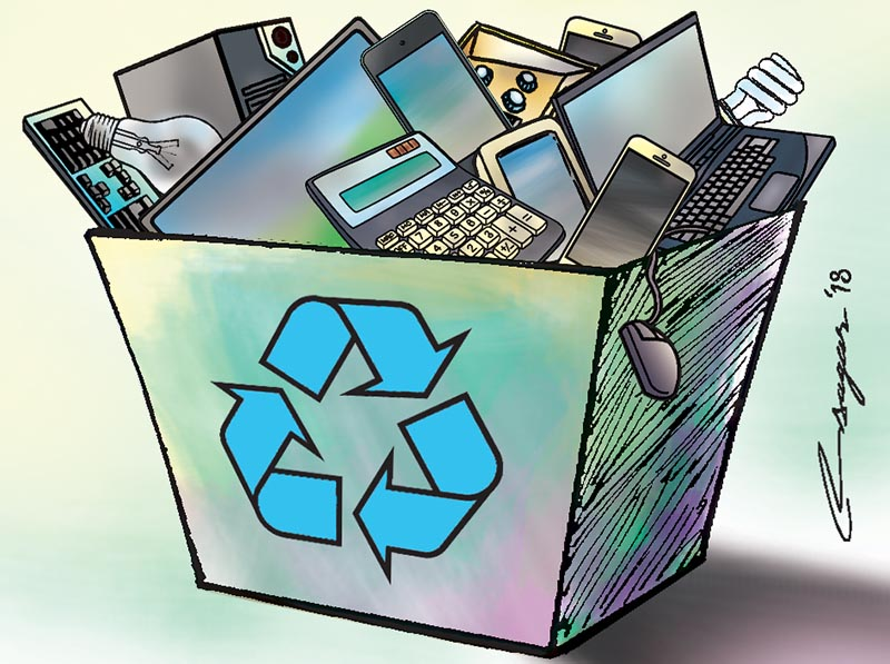 pollution from e-waste